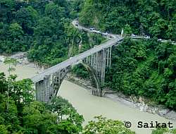 Sevoke Bridge on the way tp Kalimpong