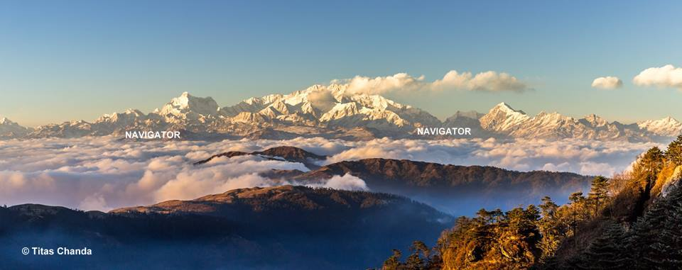 Kanchendzonga from Sandakphu - Darjeeling