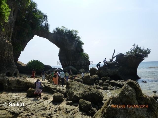 Natural Bridge- Neil Island