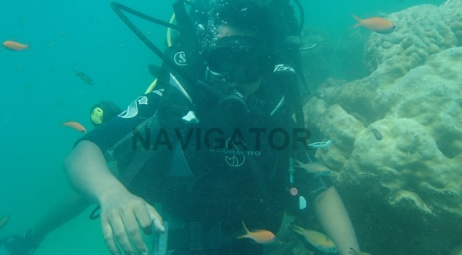 Scuba Diving at North Bay (Coral Island)