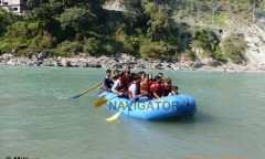 Rafting in Teesta