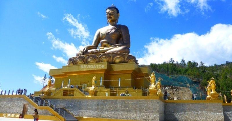 Biddha Park -Thimphu Bhutan