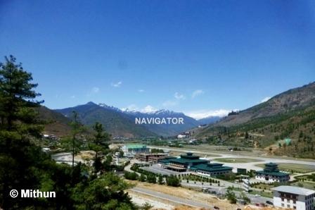 Paro Airport- Bhutan