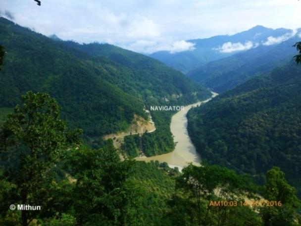Peshok view point -Darjeeling