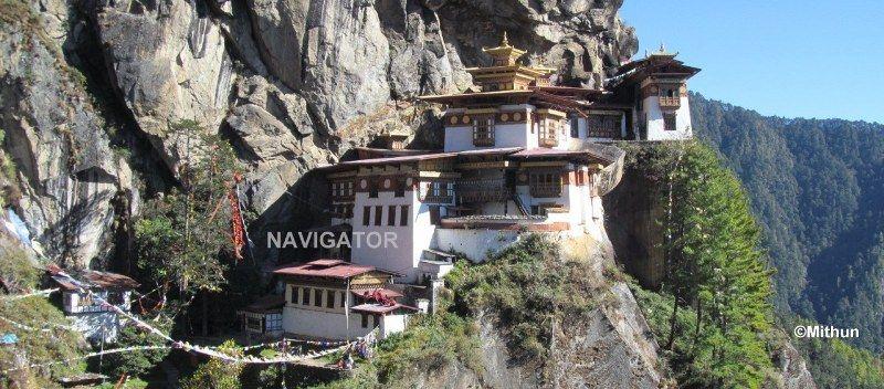 Taktsang Monastery (Tiger Nest)- Paro Bhutan