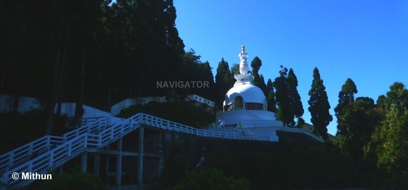 Peace Pagoda -Darjeeling