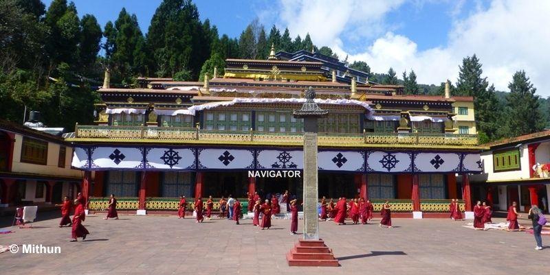 Rumtek Monastery -Gangtpok