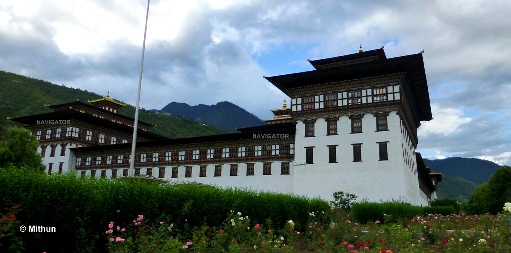Tashichho Dzong -Thimphu Bhutan