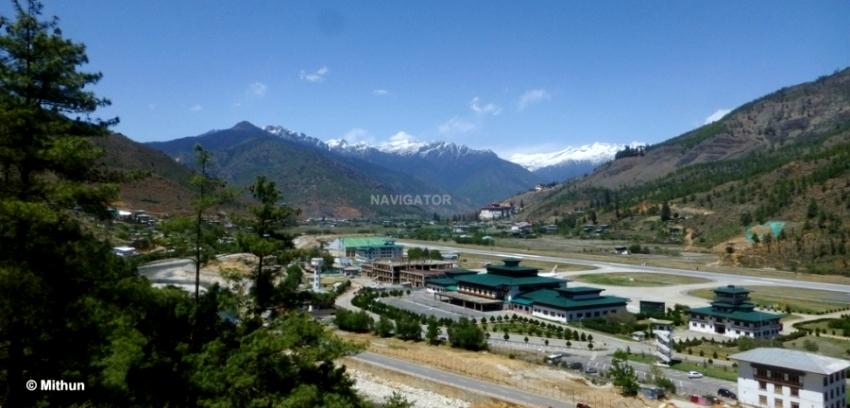 Paro Airport -Bhutan
