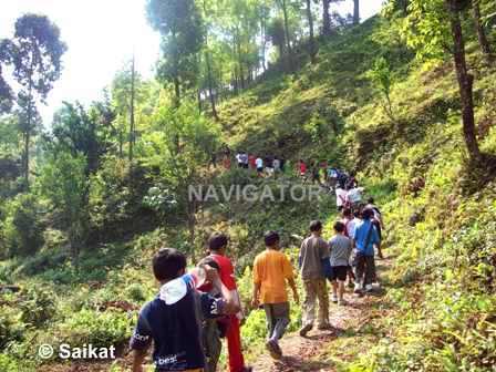 Adventure camp- Hiking
